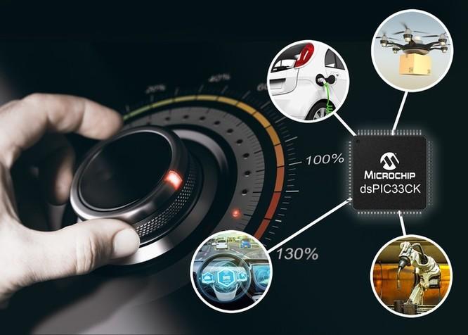 Microchip ra mắt bộ xử lý tín hiệu số kích thước siêu nhỏ ảnh 1