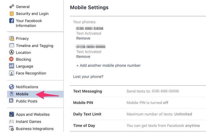 Cách đổi số điện thoại 11 số trên Facebook ảnh 3