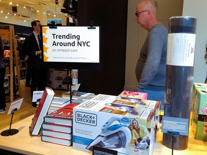 Bên trong cửa hàng 4 sao của Amazon tại New York ảnh 8