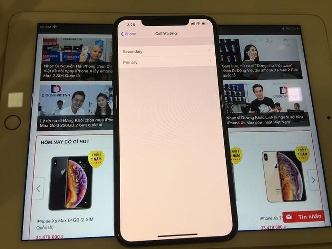 Cách sử dụng 2 SIM cùng lúc trên iPhone XS Max quốc tế ảnh 2