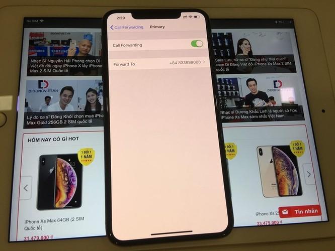 Cách sử dụng 2 SIM cùng lúc trên iPhone XS Max quốc tế ảnh 3