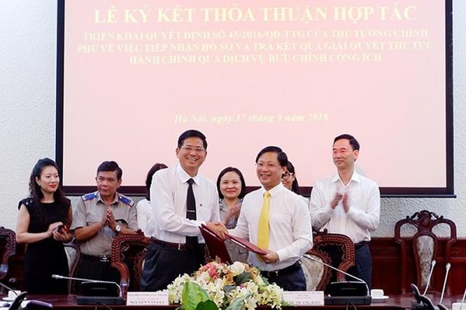 Bưu điện Việt Nam góp phần cải cách hành chính thi hành án dân sự ảnh 1
