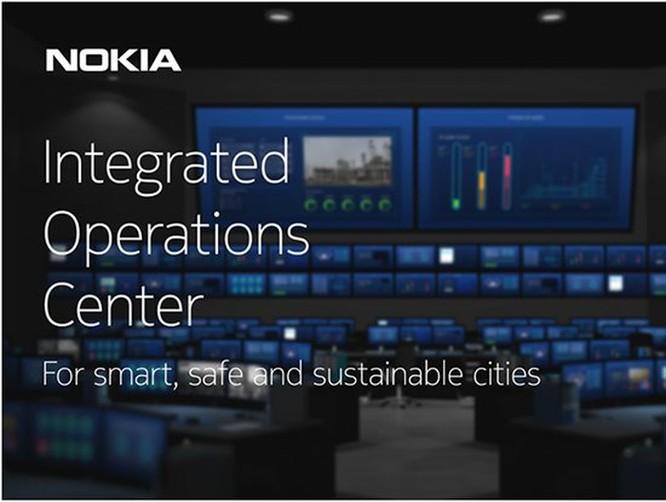 Nokia trình diễn giải pháp Trung tâm điều hành tích hợp cho thành phố thông minh với Viettel ảnh 1
