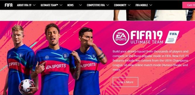 Hình ảnh Ronaldo bị xóa khỏi website của trò FIFA Online 2019 ảnh 2