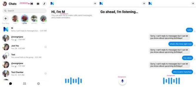 Facebook thử nghiệm đọc và nhắn tin bằng giọng nói ảnh 1