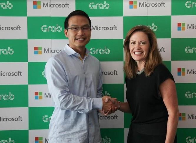 Microsoft bất ngờ tuyên bố đầu tư chiến lược vào Grab ảnh 1