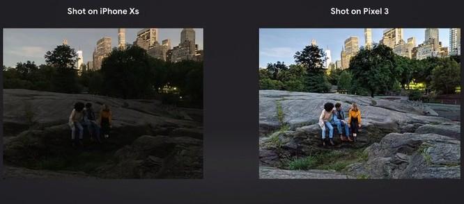 Google tự tin Pixel 3 chụp đẹp hơn iPhone Xs ảnh 1
