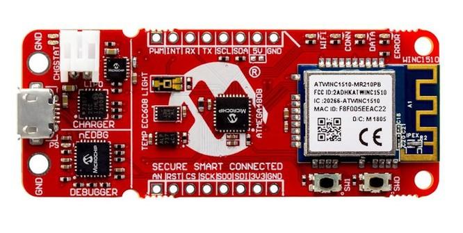 Microchip ra mắt các ứng dụng kết nối an toàn bằng thao tác đơn giản ảnh 1