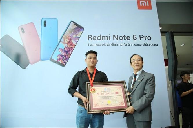 Xiaomi lập kỷ lục Việt Nam về chụp ảnh selfie với Redmi Note 6 Pro ảnh 2