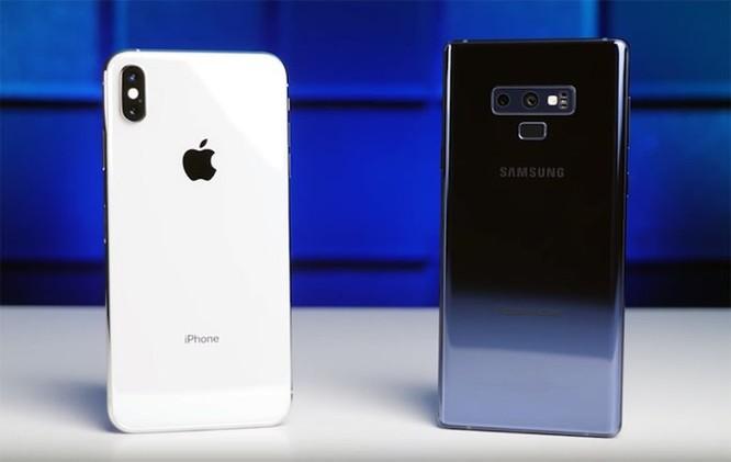 iPhone XS Max thua Note 9 trong loạt thử nghiệm sức mạnh của pin ảnh 1