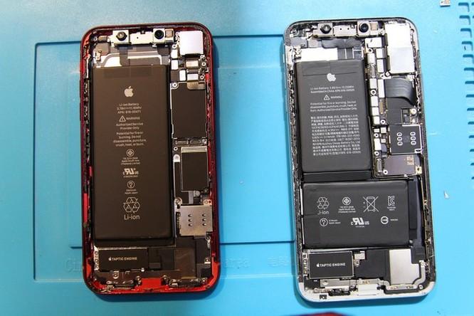 Bên trong iPhone XR vừa về VN - 1 pin, dung lượng 2.942 mAh ảnh 7