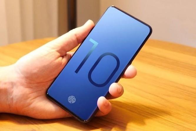 Thông tin mới nhất về điện thoại bẻ cong và Galaxy S10 của Samsung ảnh 1