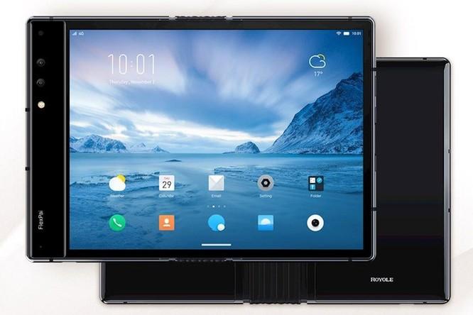 Smartphone màn hình gập được đầu tiên trên thế giới, giá 1.300 USD ảnh 1