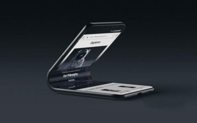 Điện thoại bẻ cong Galaxy F của Samsung có bộ nhớ 512GB, đang thử nghiệm firmware tại Mỹ ảnh 1