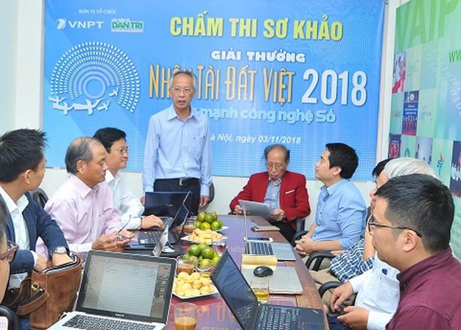 Sắp công bố kết quả sơ khảo 'Giải thưởng Nhân tài Đất Việt 2018' ảnh 1