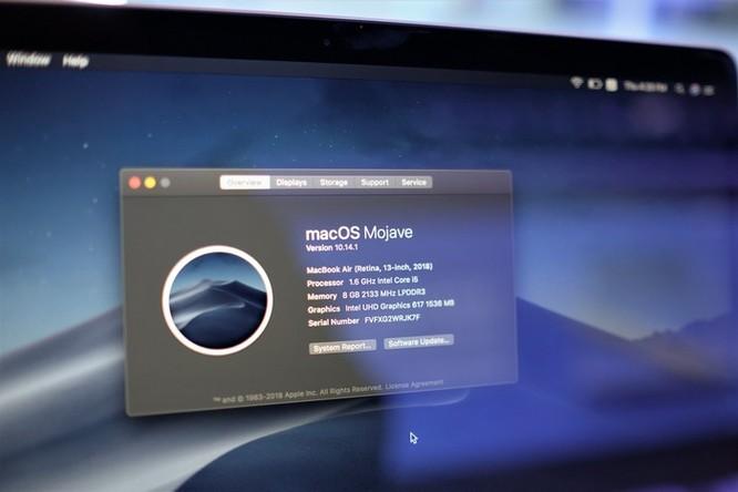 Chi tiết Macbook Air 2018 vừa về VN, giá từ 36 triệu ảnh 13