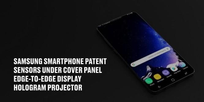 Samsung lần đầu ra mắt smartphone với cảm biến và camera dưới màn hình ảnh 1
