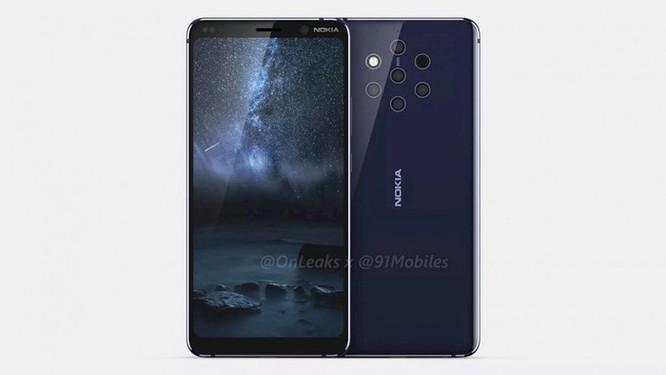 Ảnh dựng và video 360 độ về Nokia 9 ảnh 1