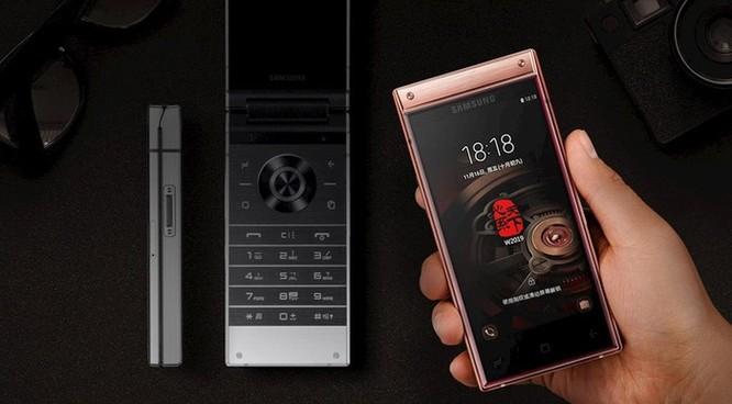 Điện thoại vỏ sò cao cấp Samsung W2019 trình làng, giá 63,6 triệu đồng ảnh 1