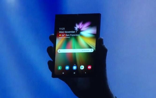 Samsung phát hành smartphone màn hình gập, giá 40 triệu đồng ảnh 3