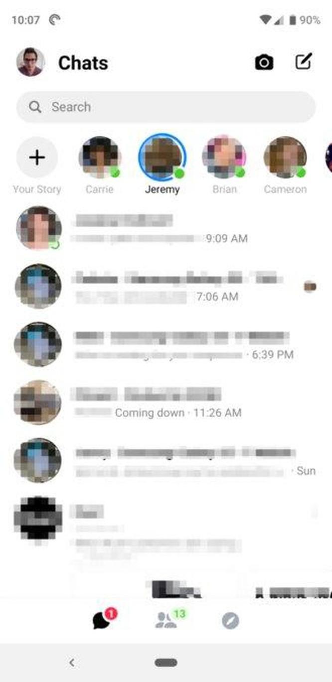 Facebook bất ngờ rút lại giao diện mới trên Messenger ảnh 2