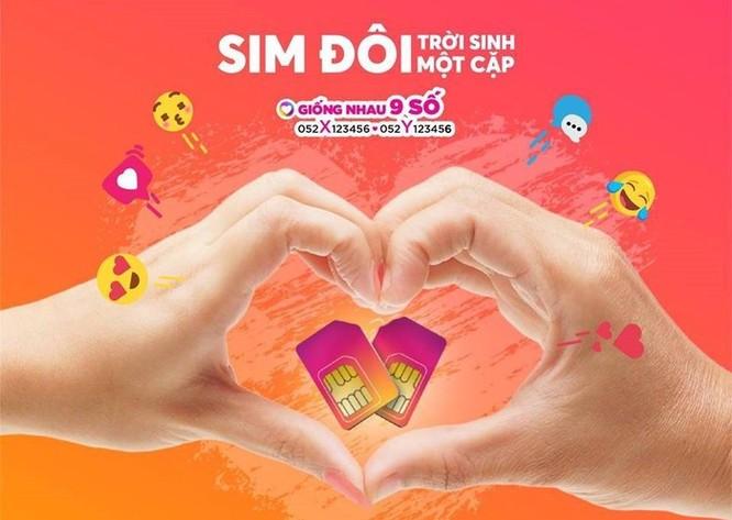 Vietnamobile ra mắt SIM đôi 'Trời sinh một cặp' không lo cước cuộc gọi ảnh 1