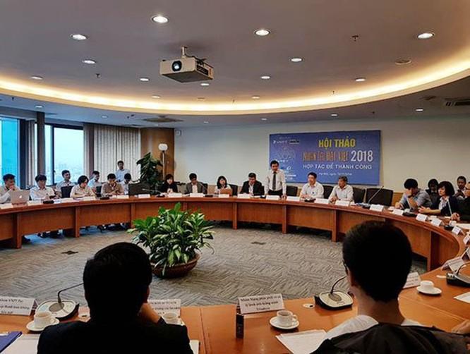 VNPT sẽ nhanh chóng đưa sáng kiến Nhân tài Đất Việt 2018 vào thực tiễn ảnh 1