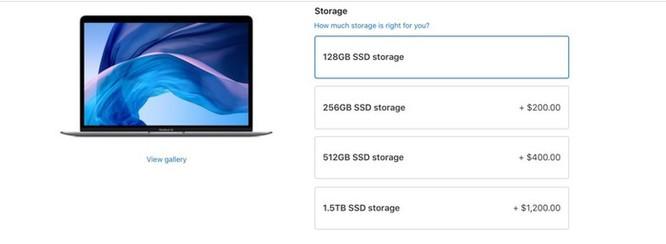 Dung lượng bộ nhớ giúp Apple moi tiền người dùng như thế nào? ảnh 2