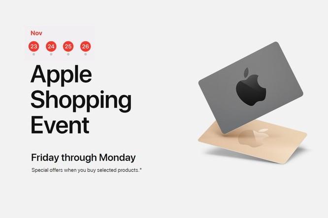 Black Friday 2018: Apple tặng quà gì cho khách hàng mua iPhone, iPad? ảnh 1