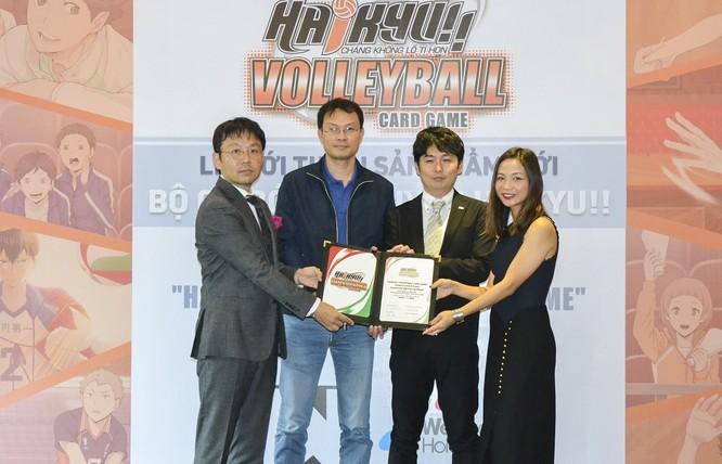 Bộ cờ bóng chuyền Haikyu đã có mặt tại Việt Nam ảnh 1