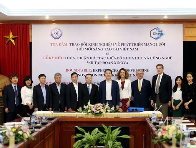 Bộ KH&CN hợp tác với Tập đoàn Xinova thành lập Trung tâm Đổi mới sáng tạo hỗ trợ nền kinh tế công nghệ mới ảnh 1