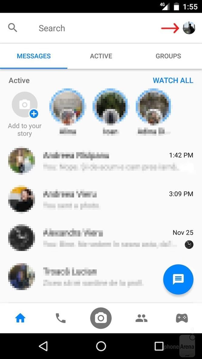 Cách tắt chat head trong Facebook Messenger trên Android mới nhất ảnh 1
