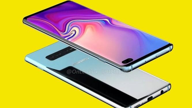 Xuất hiện hình ảnh của Galaxy S10 Plus với kiểu dáng mới ảnh 1