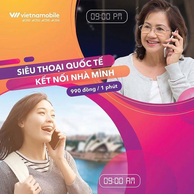 Vietnamobile ra mắt gói cước siêu thoại quốc tế, tiết kiệm đến 75% ảnh 2