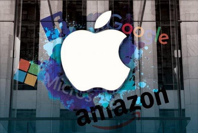 Cuộc rượt đuổi nghẹt thở giữa Apple, Amazon và Microsoft ảnh 1