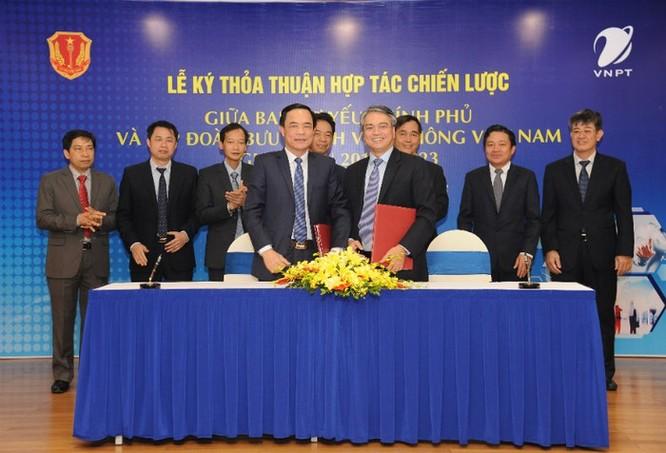 VNPT hợp tác phát triển các giải pháp CNTT bảo mật cao với Ban Cơ yếu Chính phủ ảnh 1