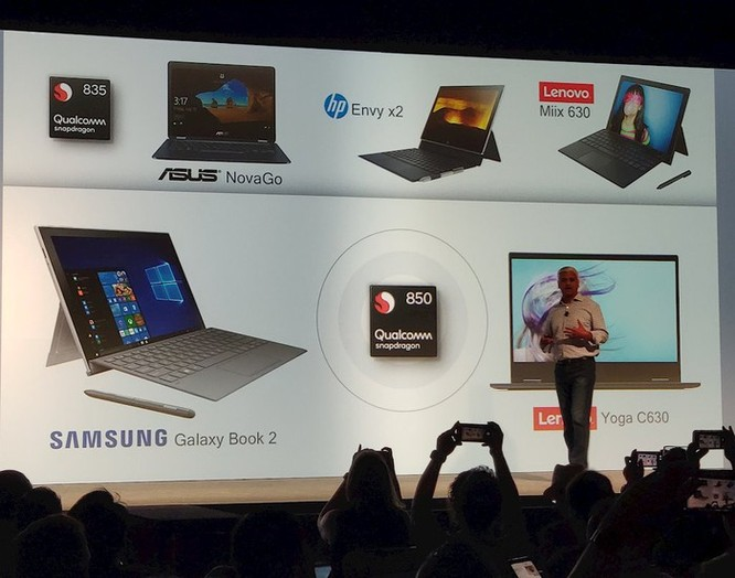Qualcomm tung ra dòng chip Snapdragon 8cx, làm máy tính mỏng nhẹ như smartphone ảnh 3