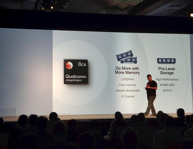 Qualcomm tung ra dòng chip Snapdragon 8cx, làm máy tính mỏng nhẹ như smartphone ảnh 4