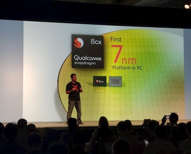 Qualcomm tung ra dòng chip Snapdragon 8cx, làm máy tính mỏng nhẹ như smartphone ảnh 1