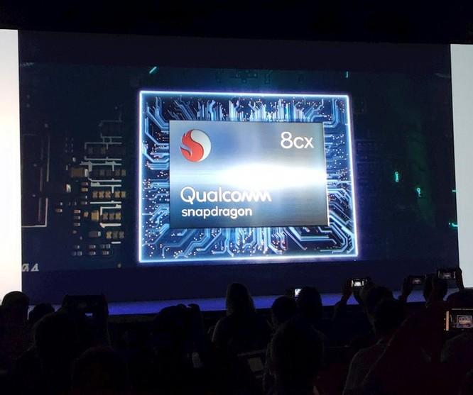 Qualcomm tung ra dòng chip Snapdragon 8cx, làm máy tính mỏng nhẹ như smartphone ảnh 2