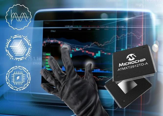 Microchip ra mắt bộ điều khiển sử dụng trên màn hình cảm ứng 20 inch của ô tô ảnh 1