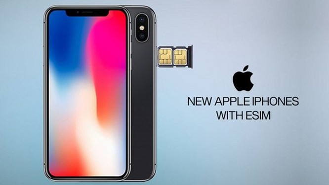eSIM cho iPhone Xs sắp có tại Việt Nam ảnh 1