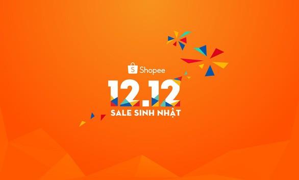 Shopee lập kỷ lục với hơn 12 triệu đơn hàng trong ngày 12-12 - Ảnh 1.