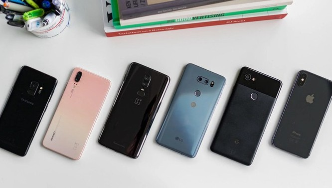 Loạt smartphone tốt nhất năm 2018 ảnh 1