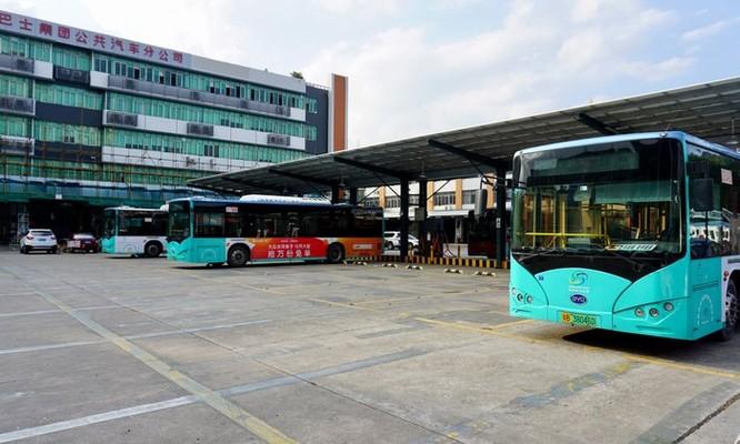Thâm Quyến, nơi đầu tiên 100% xe buýt chạy điện trên thế giới ảnh 1