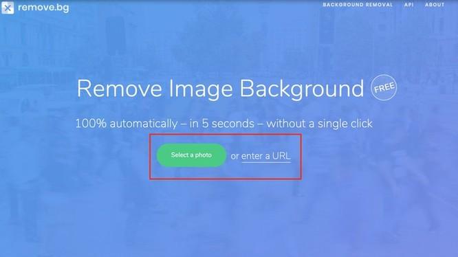 Website này giúp bạn tách nền ảnh nhanh chóng nhờ AI ảnh 1