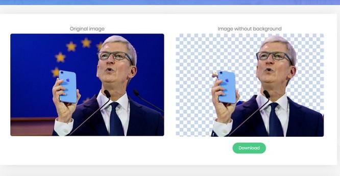 Website này giúp bạn tách nền ảnh nhanh chóng nhờ AI ảnh 3
