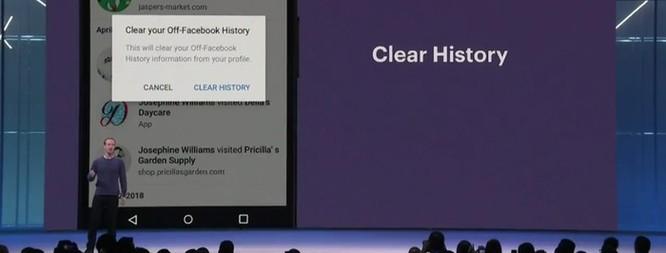 Facebook nợ người dùng tính năng 'clear history' suốt 7 tháng ảnh 1