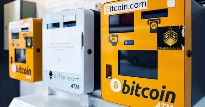 Sáu máy ATM tiền mật mã mới được lắp đặt mỗi ngày trong năm 2018 ảnh 1