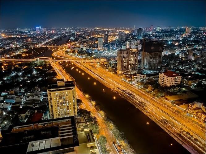Ảnh Sài Gòn ngày và đêm dưới ống kính smartphone ảnh 6